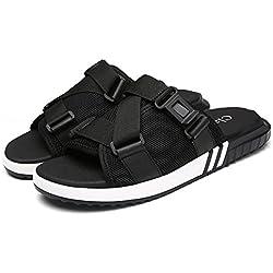Sandalen Outdoor Sandaletten Männer Pantoletten Frauen Sommersport Leder Burst Absatz Fischer Lässige Version Strand Strap Wanderschuhe