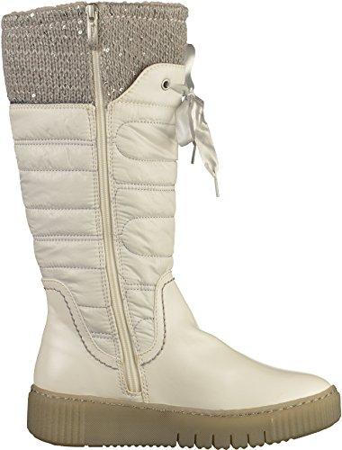 Tamaris 1-26628-39 Damen Stiefel Weiß(Offwhite)