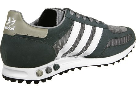 Adidas Trainer Og, Low Athletic Sneakers Para Hombres, Gris-blanco