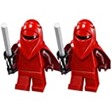 Lego Imperial Royal Guard Set of 2 From 75034 Star Wars Minifigures by Lego
