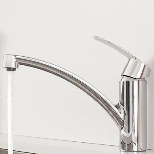 Grohe – Start Küchenarmatur, Schwenkbereich 140°, Easy Exchange Mousseur, Chrom - 3
