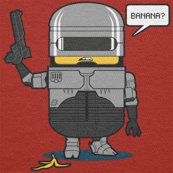 TEXLAB - Banana Cop - Herren Langarm T-Shirt Rot