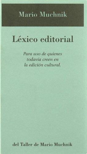 Lexico editorial por Mario Muchnick