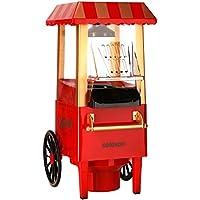 Celexon CinePop CP500, Machine a popcorn, rouge, rétro, facile à netoyer, pas besoin d'huile