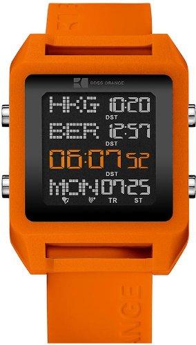 Hugo Boss 1512816 Unisex Watch Analogue Quartz Plastic