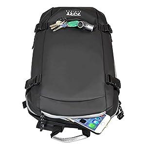 418DN7w816L. SS300  - Port Designs Brooklyn Mochila para portátil de 15.6 '' y tabletas de 10.1 '', Negro