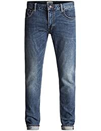 Quiksilver Zeppelin Medium Blue - Jean skinny pour Homme EQYDP03320