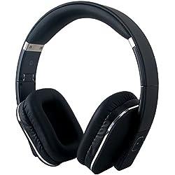 August AUG EP650B – Auriculares Bluetooth NFC Inalámbricos con AptX - Color Negro