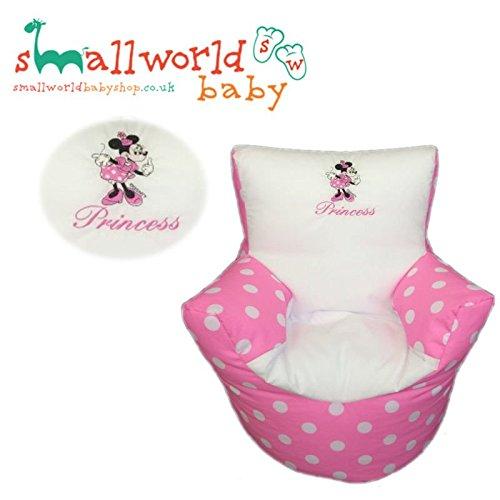 Personalisierte Minnie Maus Kleinkinder Sitzsack
