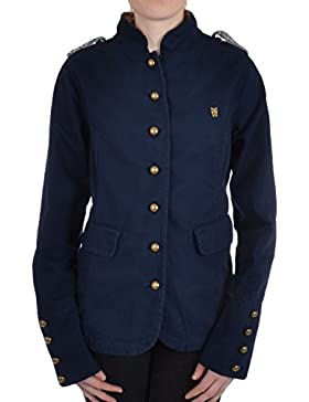 Fenchurch - verónica mujeres militares chaqueta de abrigo,  abotonada, militar, de mujero, Abrigo, Blackberry, 10