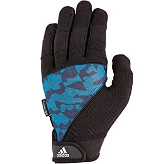 adidas Full Finger Performance Gloves - Camo, L