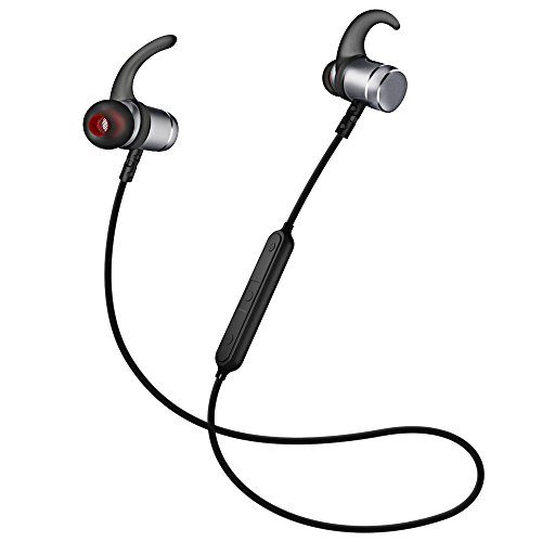 Auricolari Wireless Cuffie Bluetooth 4.1 Sporive con Design Magnetiche  Metallico. 44b0c2985fc7
