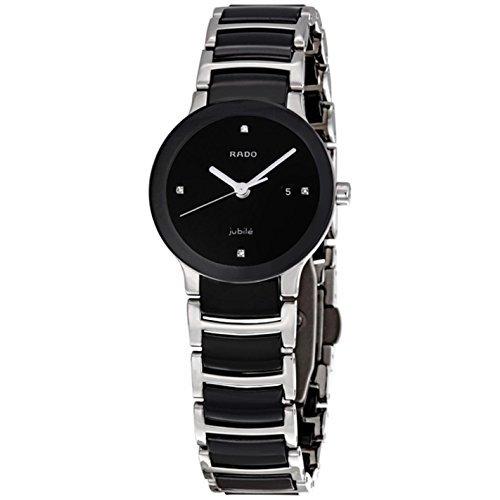 Rado r30935712Centrix in ceramica orologio da donna, quadrante nero da...