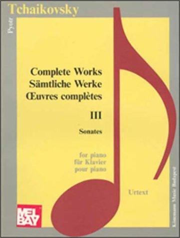 Tchaikovsky, complete works, vol.1piano por P.I. TCHAIKOVSKY