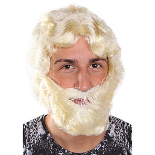 - Blonde Wikinger Kostüme Perücke Und Bart Set