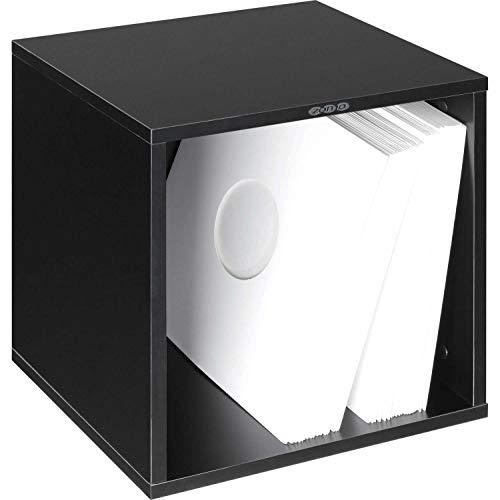 Zomo VS-Box 100 LP-Regal, schwarz