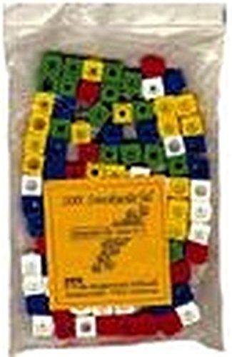 Mathematik mit Steckwürfeln, Steckwürfel, allseitig steckbar 2