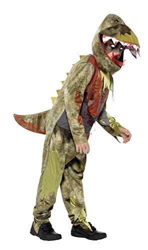 n Tödlicher Dinosaurier Deluxe Kostüm, Overall und Kopfbedeckung, Größe: M, 44294 ()