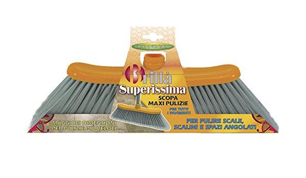 Superissima Grosser Besen Speziell Zum Reinigen Der Winkel Von Treppen Geeignet Amazon De Kuche Haushalt