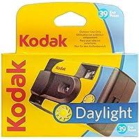 Kodak SUC Daylight 39 800ISO - Cámara analógica desechable, Color Amarillo y Azul