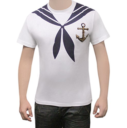 Herren Sailor Captain Kostüm - Erwachsene Herren Chirurg Arzt Captain alle
