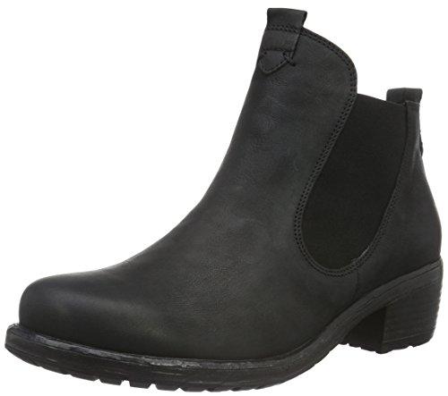 Think! Damen Liab Chelsea Boots Schwarz (SCHWARZ 00)