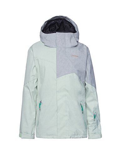 Zimtstern Damen Snow Jacket Selay Women, Gumdrop Green, S, 5620203870003