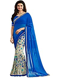 Sarees ( Sarees For Women Party Wear Offer Designer Sarees Below 500 Rupees Sarees For Women Latest Design Sarees... - B075WCGRJ5