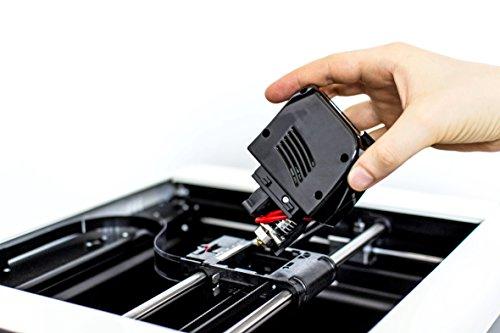 Drucker 3d fabtotum Personal Fabricator Core, komplett von Printing Head (Kauf angefordert werden die Daten für die Abrechnung: P. Mehrwertsteuer oder Steuernummer), rot, 1 -