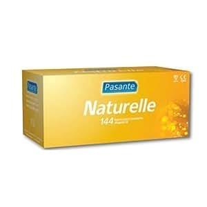 Pasante Lot de 144 préservatifs Naturelle