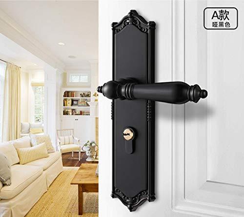 ZTZT Cerradura de la puerta dormitorio interior cerradura de la puerta