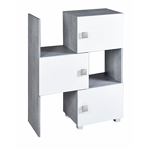 preisvergleich schildmeyer schieberegal agios stapelbar willbilliger. Black Bedroom Furniture Sets. Home Design Ideas