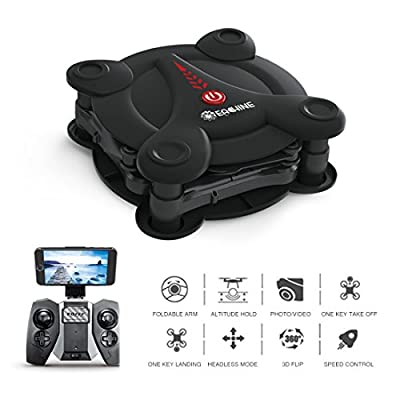 EACHINE E55 WiFi FPV Quadcopter With Camera High Hold Mode Foldable Pocket Drone RC Mini Nano Quadcopter Drone RTF Mode 2