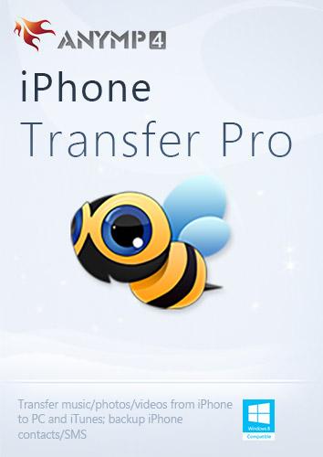 AnyMP4 iPhone Transfer Pro 1 Year - Daten zwischen iPhone, iPad, iPod, PC und iTunes übertragen [Download] -