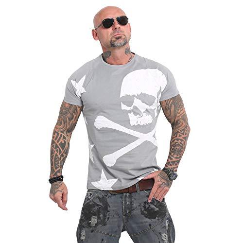 Yakuza Herren Overskulled T-Shirt