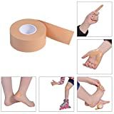 #2: SBE Elastic Cotton Roll Adhesive Sports Injury Kinesiology Muscular Tape Stress Protection Tapes First Aid Bandage Support Tape For Pain Relieve (5cm x 5cm -Skin Colour)