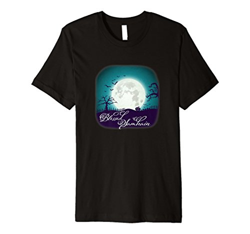 Blessed Samhain Wicca Pagan Hexe Halloween T Shirt