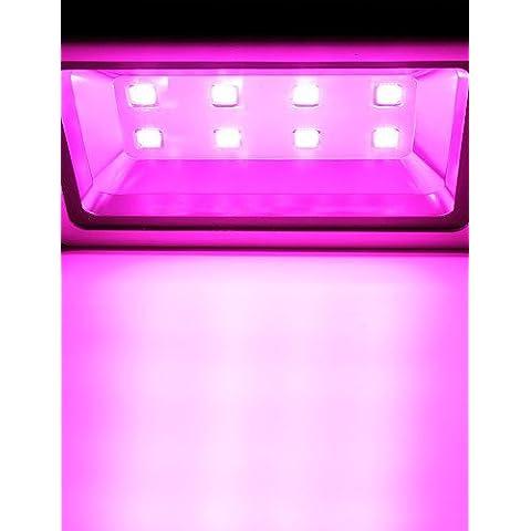 ASNSWDC® 1pcs 1200W 8leds spettro completo principale coltiva ac85-265v luce di inondazione per le piante idroponiche verdure crescente di