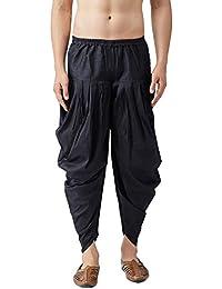 Sojanya (Since 1958), Men's Silk Blend Harem Pant
