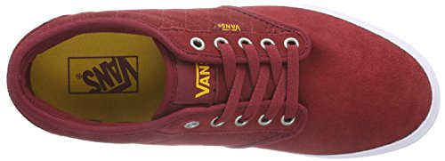 Vans M Atwood, Herren Sneakers Rot ((Quilt) biking red/marshmallow)
