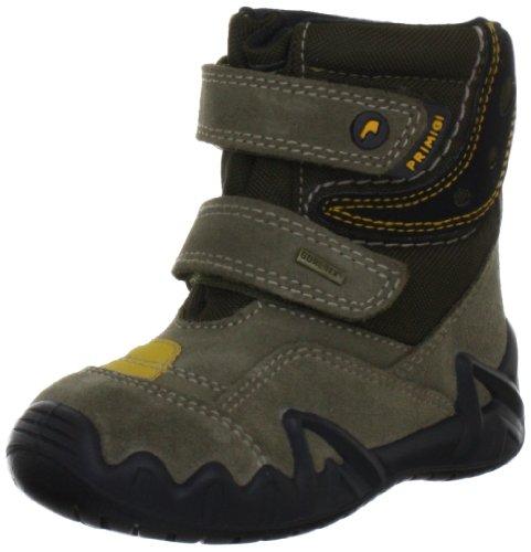 Primigi MOKO-E 7637277, Jungen Lauflernschuhe, Braun (FANGO/MILITARE), EU 20 (Primigi Schuhe Kleinkinder)