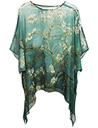 best authentic 84630 742f5 Camicia tunica Seta - Donna: Abbigliamento - Amazon.it