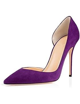 ELASHE- Scarpe da Donna - 10CM Scarpe col Tacco Pointy Toe - Classiche Scarpe col Tacco