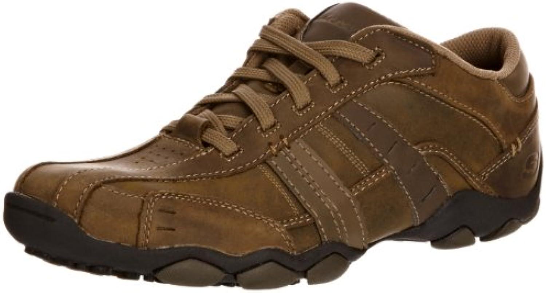 Skechers Diameter Vassell 62607 BBK - Zapatillas fashion de cuero para hombre