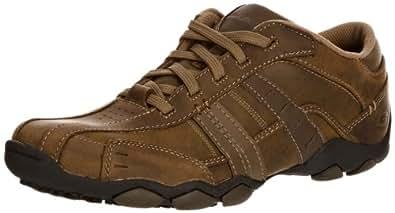 Skechers Diameter Vassell, Chaussures de ville homme, Marron (Brown), 39 EU