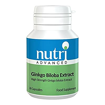 Ginkgo Biloba Extract - 60 Tablets by Nutri Advanced - High Strength from Nutri Advanced