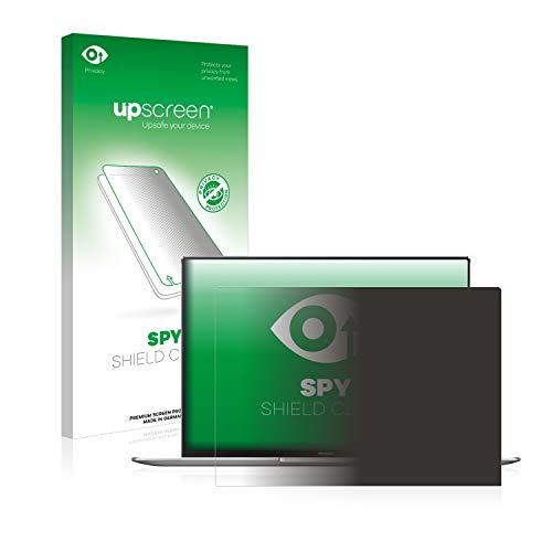 upscreen Spy Shield Clear Blickschutzfolie/Privacy für Huawei MateBook X Pro 2019 (Sichtschutz ab 30°, Kratzschutz, selbstklebend)