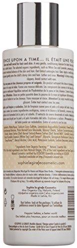 Sophie la Girafe Cosmetics SLG-706 - Gel limpiador de cabello y cuerpo para bebé, 200 ml