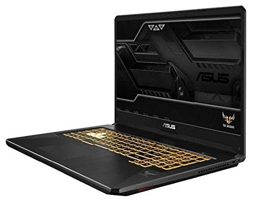 "ASUS TUF Gaming FX505GD-BQ103 - Portátil Gaming de 15.6"" FHD (Intel Core i7-8750H, 8 GB RAM, 256 GB SSD, NVIDIA GeForce GTX1050 4GB, Sin Sistema operativo) Gunmetal - Teclado QWERTY Español"