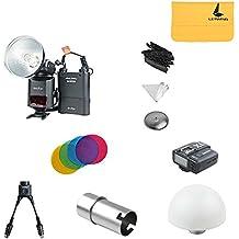Godox ad360ii-n potente TTL Flash Speedlite + PB960Pack de alimentación + dB-02y cable + AD-S15Blub Cover + AD-S7suave caja + AD-S17+ AD-S11+ x1N transmisor inalámbrico para Nikon DSLR Cámara